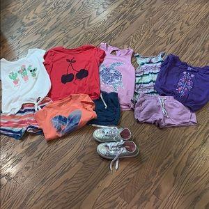 Girls 5-6 Gymboree, Nike, Children's Place lot